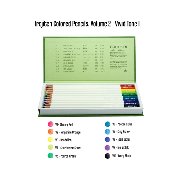 Tombow Irojiten Colored Pencil Dictionary - art supplies 3
