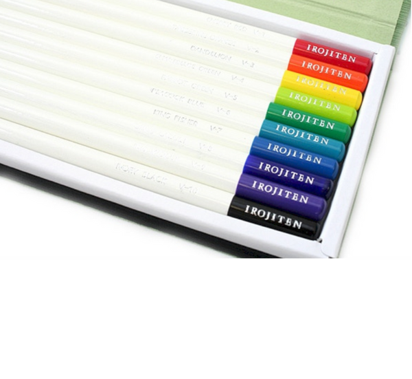 Tombow Irojiten Colored Pencil Dictionary - 30 Color Set 5