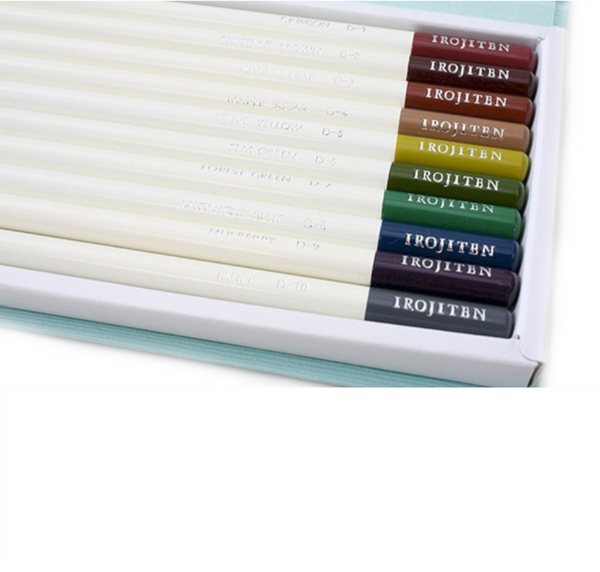 Tombow Irojiten Colored Pencil Dictionary - 30 Color Set 6