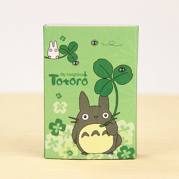 Totoro & My Melody Sticky Memo Set Green