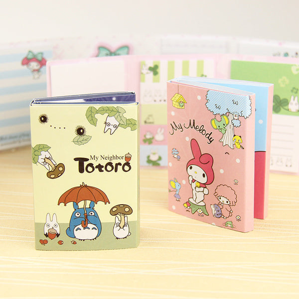 Totoro & My Melody Sticky Memo Set 2