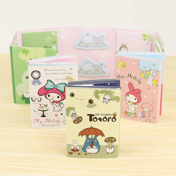 Totoro & My Melody Sticky Memo Set 9