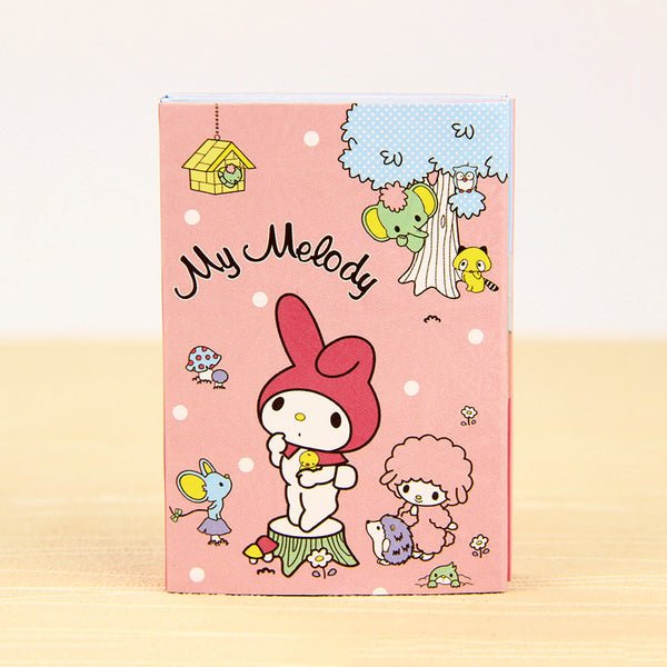 Totoro & My Melody Sticky Memo Set Pink