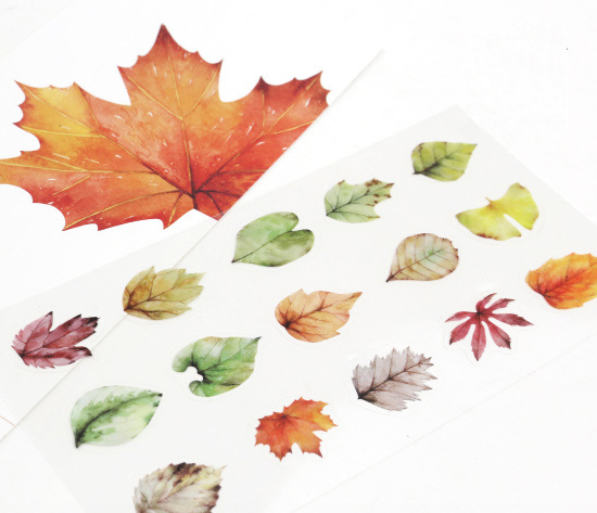 Autumn Leaves Decorative Stickers 2