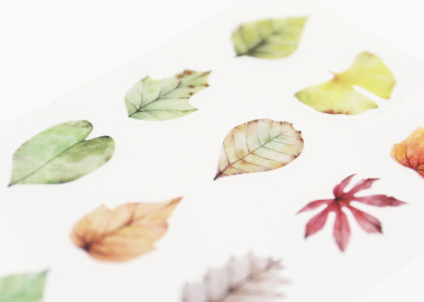 Autumn Leaves Decorative Stickers