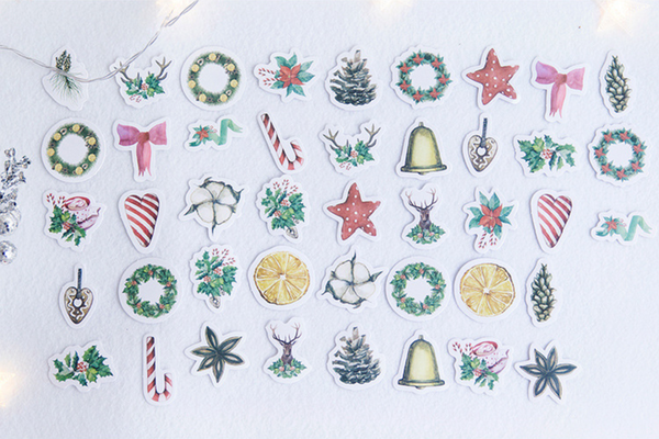Under The Mistletoe Decorative Stickers 4