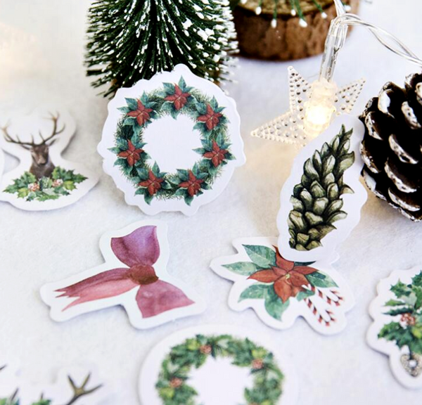 Under The Mistletoe Decorative Stickers 2