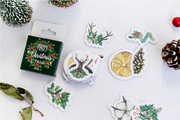 Under The Mistletoe Decorative Stickers 13