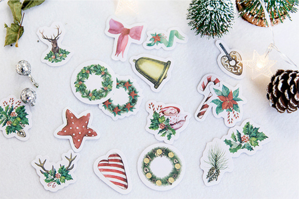 Under The Mistletoe Decorative Stickers 3