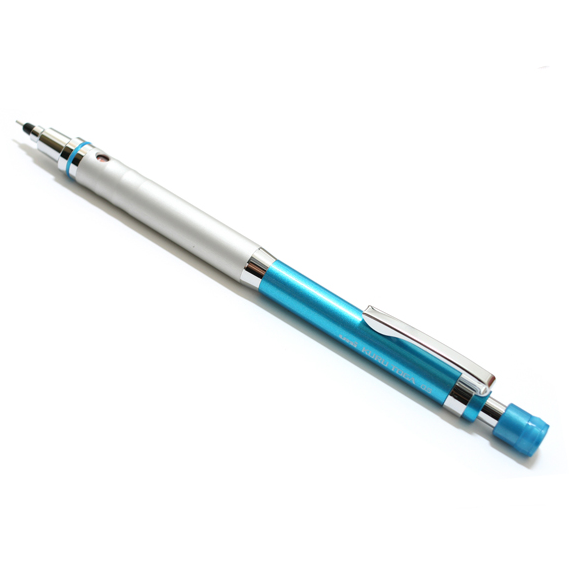 Uni Kuru Toga High Grade Auto Lead Rotation Mechanical Pencil, 0.5mm Blue 2
