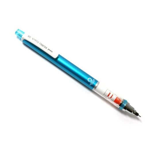 Uni Kuru Toga Auto Lead Rotation Mechanical Pencil Blue