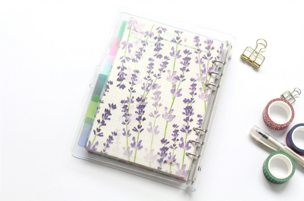 A5/A6 Watercolor Nature Planner Dividers 10