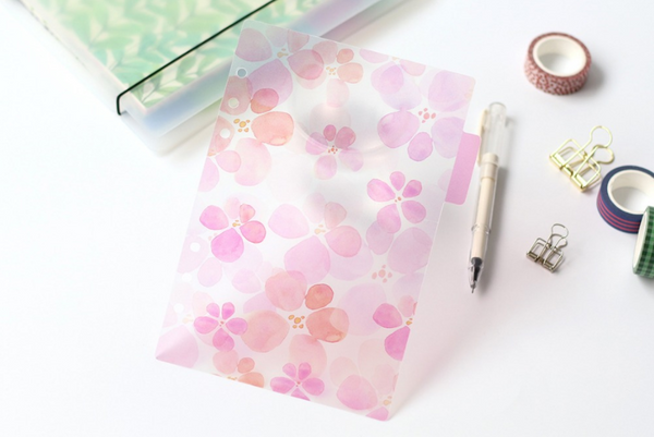 A5/A6 Watercolor Nature Planner Dividers 11