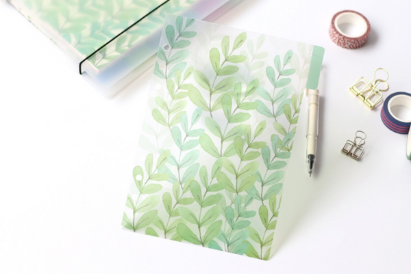 A5/A6 Watercolor Nature Planner Dividers 3