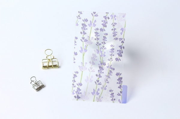 A5/A6 Watercolor Nature Planner Dividers 19