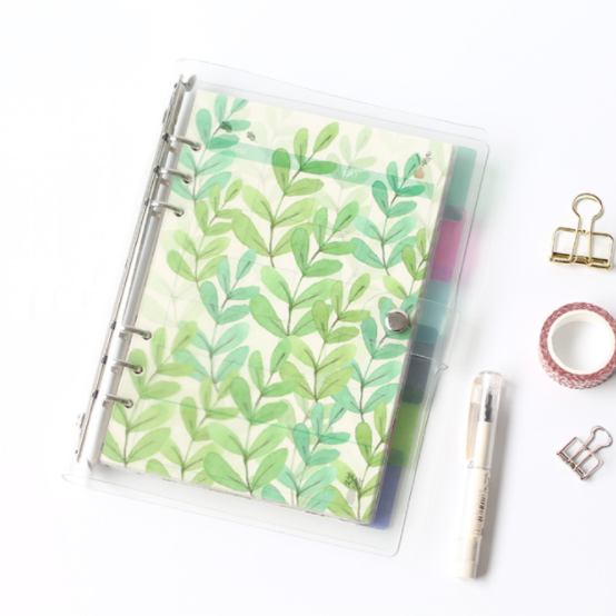 A5/A6 Watercolor Nature Planner Dividers 2