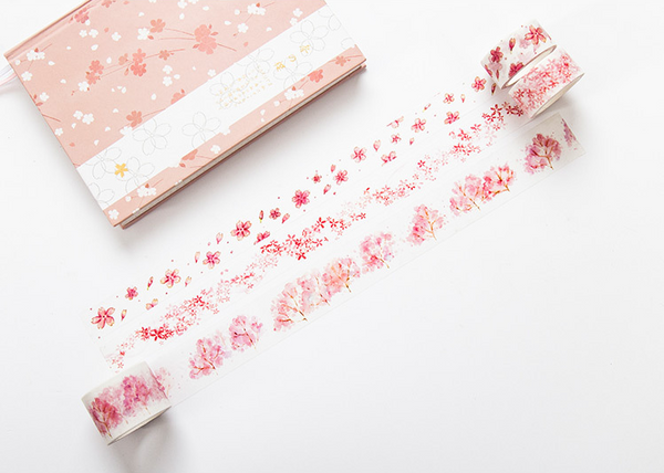 Watercolor Sakura Washi Tape 6