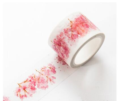 Watercolor Sakura Washi Tape 13