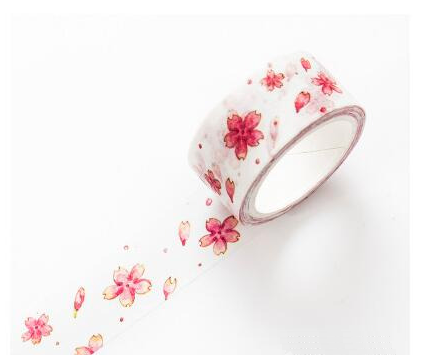 Watercolor Sakura Washi Tape 14