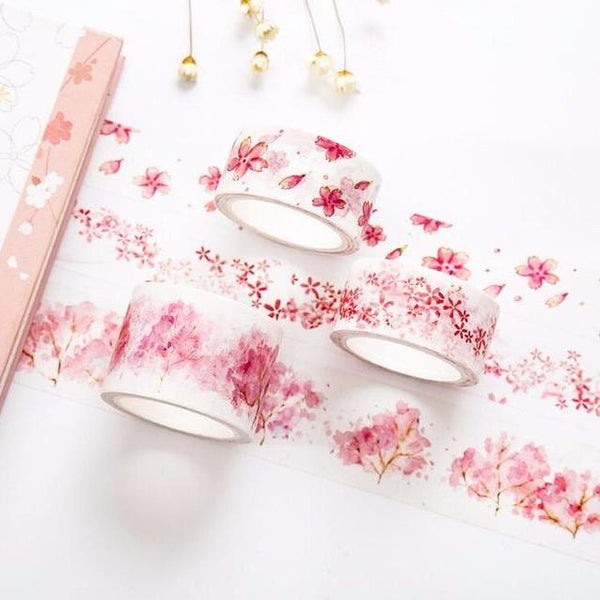Watercolor Sakura Washi Tape
