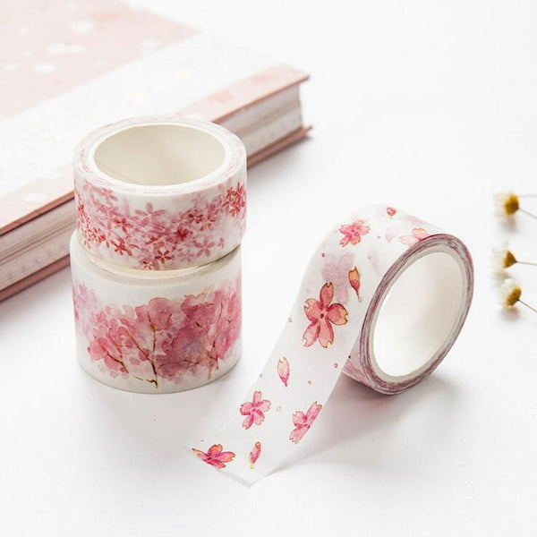 Watercolor Sakura Washi Tape 4