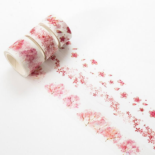 Watercolor Sakura Washi Tape 2