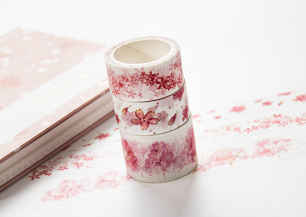 Watercolor Sakura Washi Tape 10