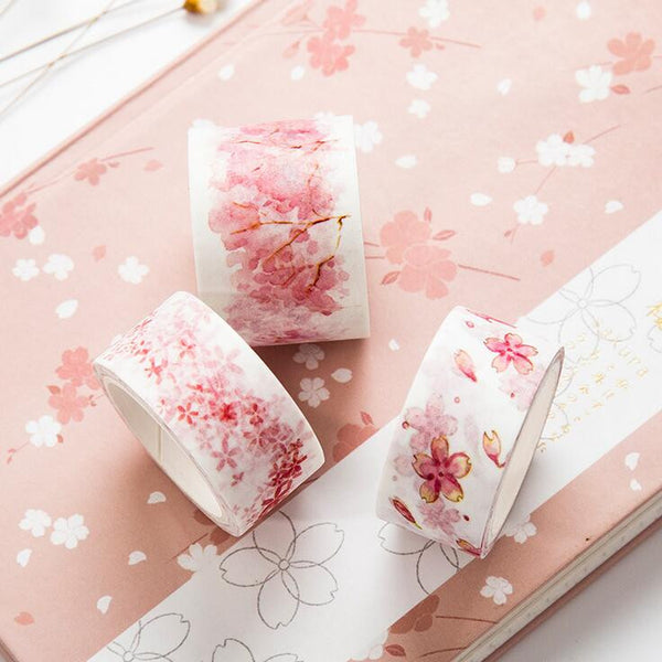 Watercolor Sakura Washi Tape 5