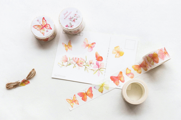 Wide Spring Blossom Washi Tape 12