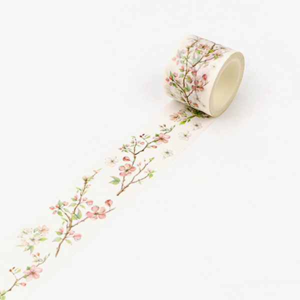 Wide Spring Blossom Washi Tape 20