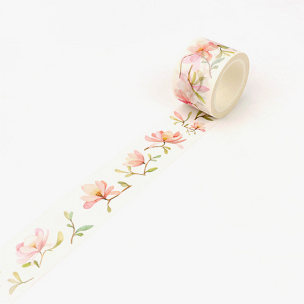 Wide Spring Blossom Washi Tape 22