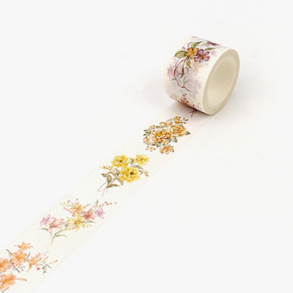 Wide Spring Blossom Washi Tape 19
