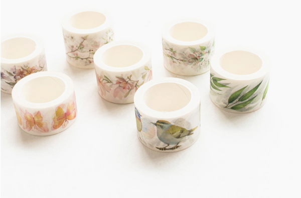 Wide Spring Blossom Washi Tape 17