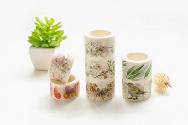 Wide Spring Blossom Washi Tape 7