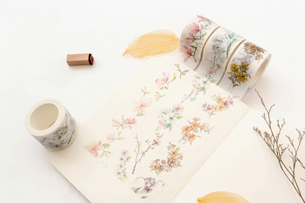 Wide Spring Blossom Washi Tape 2