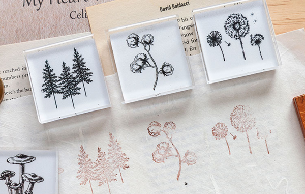 Wild Nature Acrylic Stamps