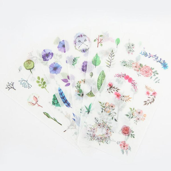 Wild Nature Stickers - In Bloom 3