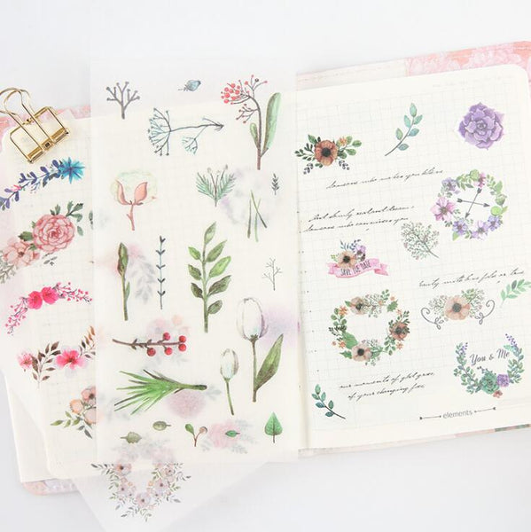 Wild Nature Stickers - In Bloom 4