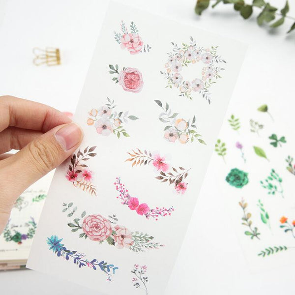 Wild Nature Stickers - In Bloom 2