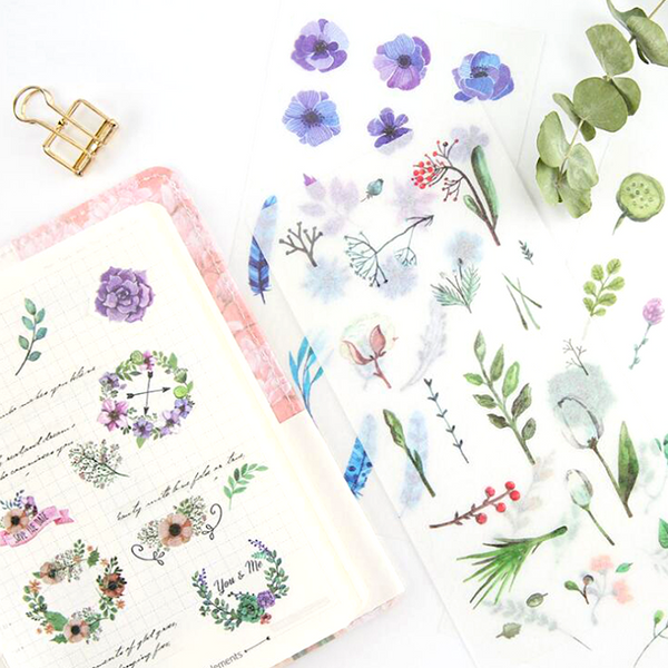 Wild Nature Sticker Set - In Bloom