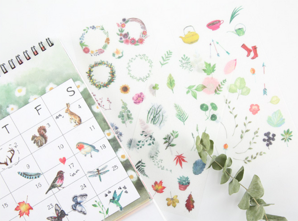 Wild Nature Stickers - Summertime 10