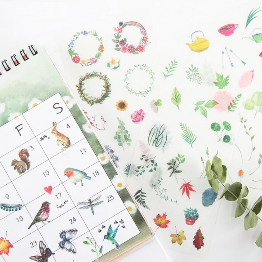 Wild Nature Stickers - Summertime