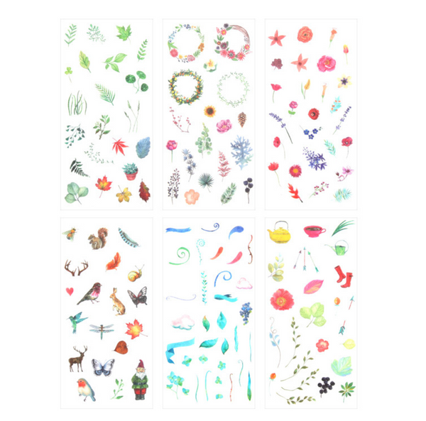 Wild Nature Stickers - Summertime 11