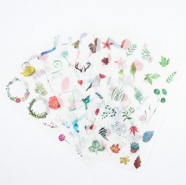 Wild Nature Stickers - Summertime 4