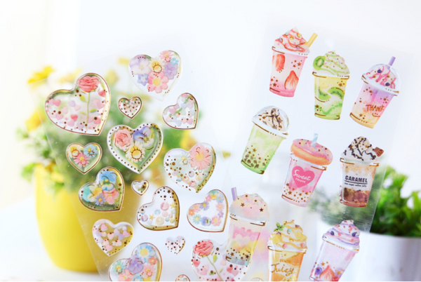Zaomo Heart Stickers