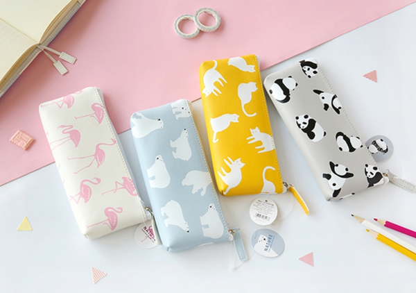 Korean Animal Pencil Case