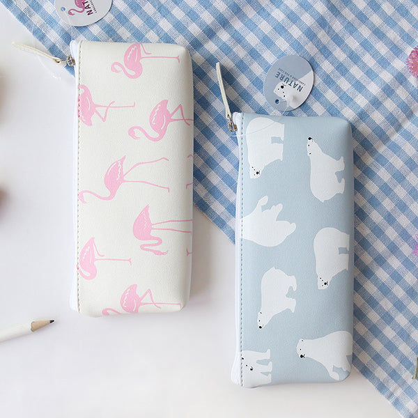 Cute Korean Animal Pencil Case