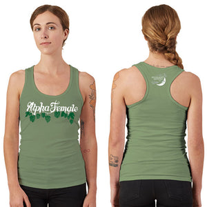 Women's Alpha Female Racerback Tank