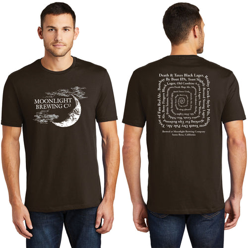 Men's Beer Spiral T-Shirt