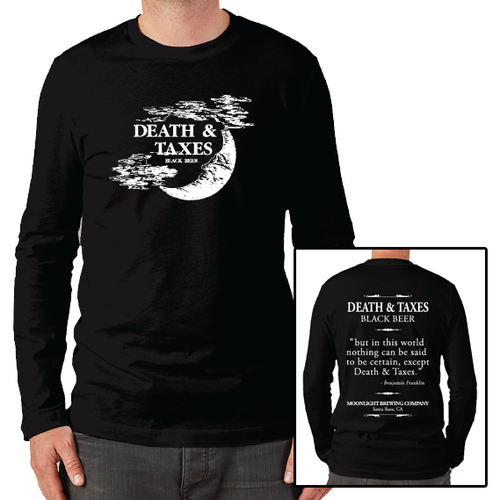 Men's Death & Taxes Long Sleeve T-Shirt